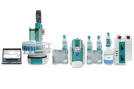 884 Professional VA fully automated for CVS and large sample series
